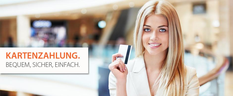 Kartenzahlung- Bequem, Sicher, Einfach